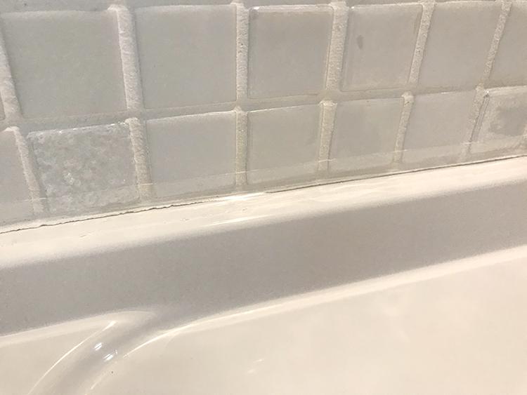 洗面の隙間について